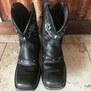 Cowgirl boots , Justin brand
